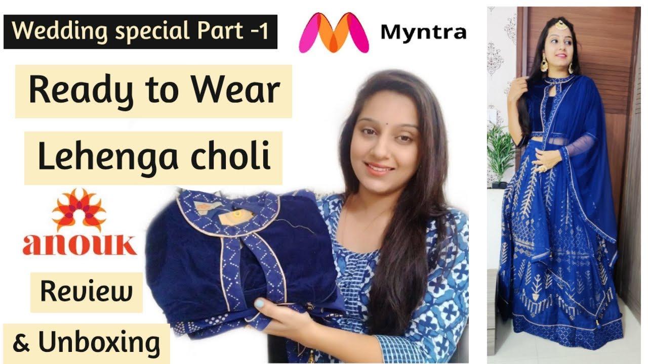 [VIDEO] – Myntra Lehenga Haul | Myntra Lehenga Choli Unboxing & Review | Wedding Special-Lehenga Online Myntra