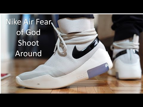 Nike Air Fear of God Shoot Around Review & On Feet YouTube