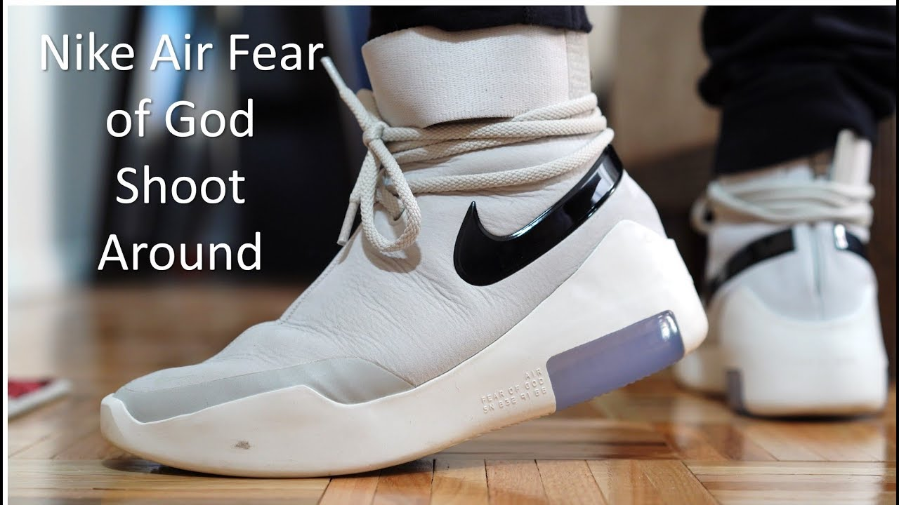 newest d85cb 3f78b Nike Air Fear of God Shoot Around - Review   On-Feet
