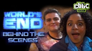 World's End - Go behind the scenes with the cast! On CBBC
