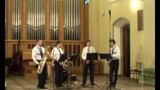 Tequila Sax Quartet - Good Song
