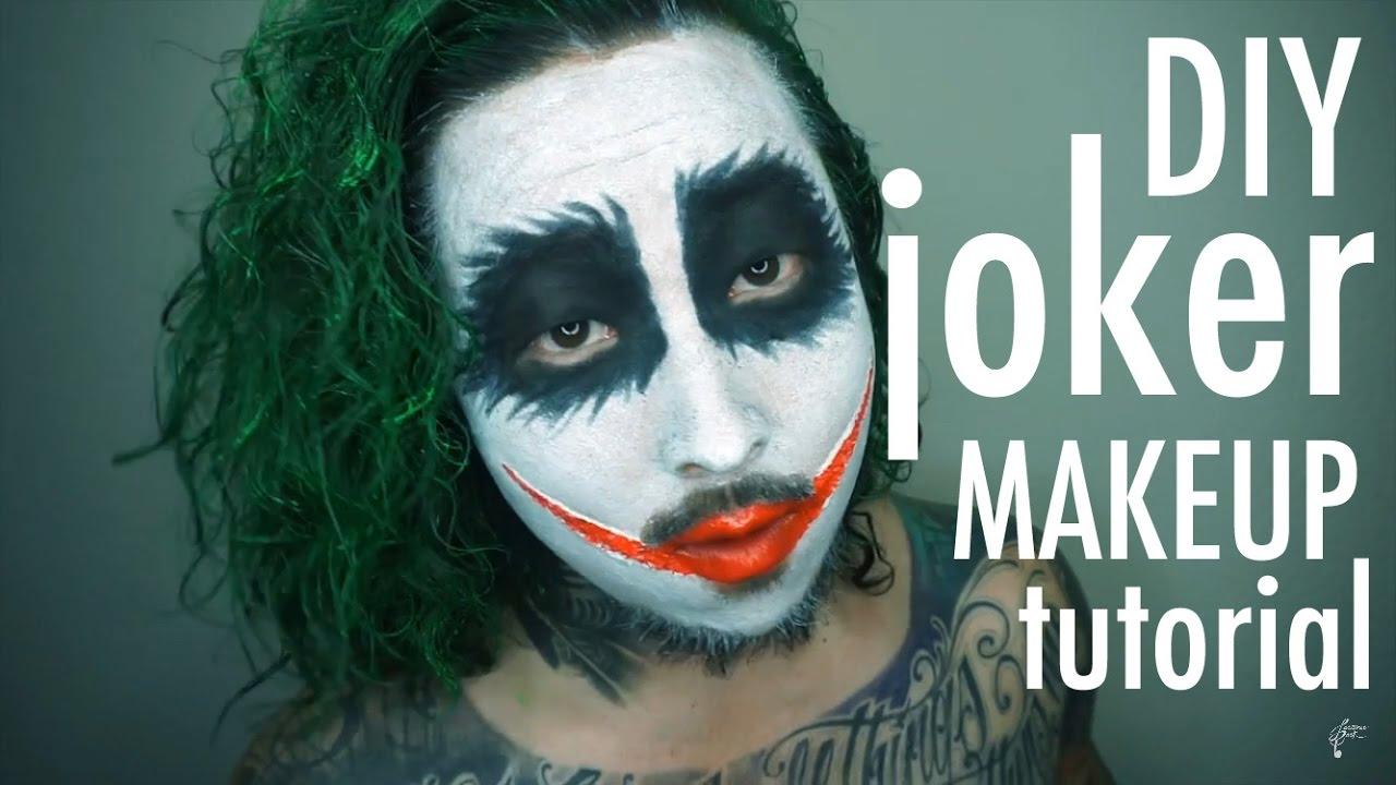 Jester makeup