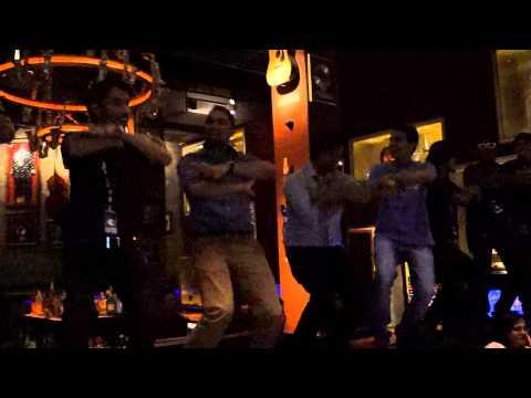 YMCA dance... Hard Rock Cafe Pune