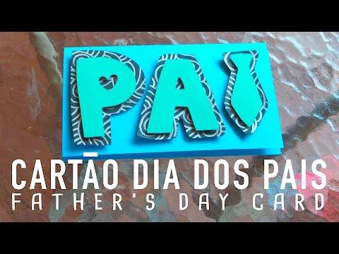 DIY - Cartão de dia dos pais