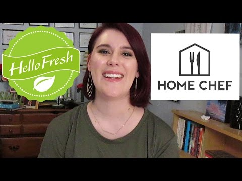 Hello Fresh vs. Home Chef ~ Review & Cooking 4 Recipes