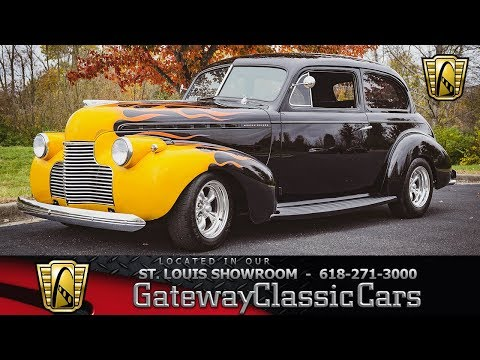 #7918 1940 Chevrolet Master Deluxe Gateway Classic Cars St. Louis