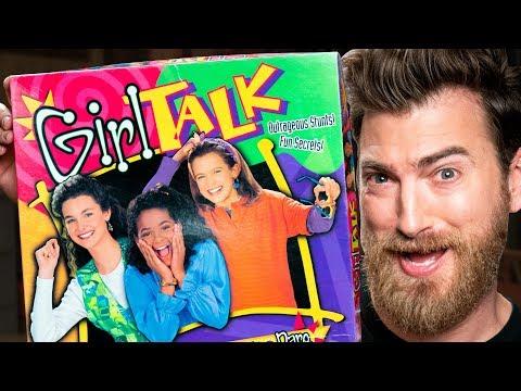 Playing Girl Talk Board Game