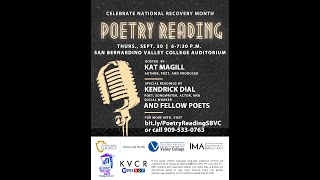 A Recovery Month Poetry Project