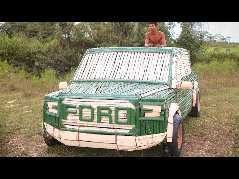 unbelievable!-make-the-most-beautiful-bamboo-ford-raptor-car