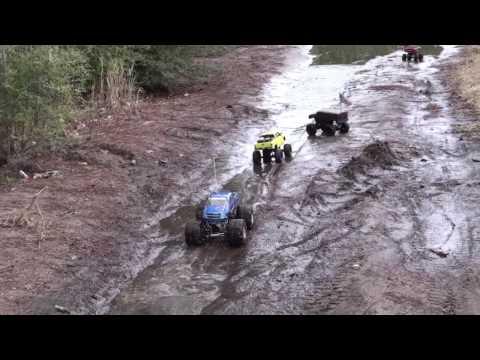 real country boyz  rc mud boggin
