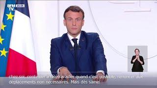 Covid-19: Emmanuel Macron évoque une possible levée du confinement le 15 décembre