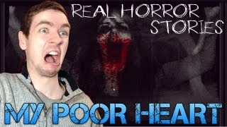 Real Horror Stories - MY POOR HEART - Browser based horror game - Commentary/Face cam reaction