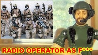 Radio Operator As F*** - Action Figure Therapy