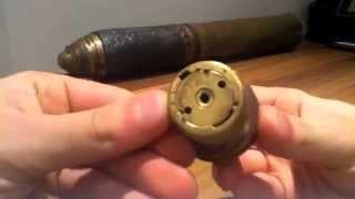 Boer war artillery shell fuse relic RARE!! part3