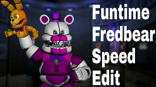 - Speed Edit Funtime Fredbear idk why i made this I I
