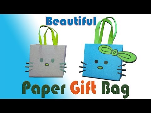 DIY - How to make Paper Gift Bag / Best Cute Paper Gift Bag Ideas / Hand Made Paper Crafts
