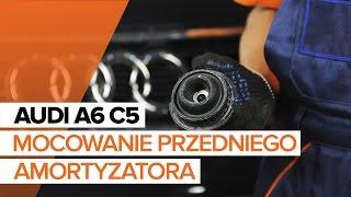Jak wymienić Gumy stabilizatora AUDI A4 (8E2, B6) - przewodnik wideo