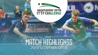 Владимир Сидоренко vs Tilen Cvetko | Slovenia Open 2019 (Group)