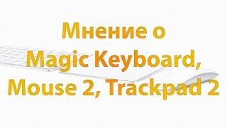 Мнение о Magic Keyboard, Mouse 2,Trackpad 2. Трекпад Apple Magic Trackpad Обзор