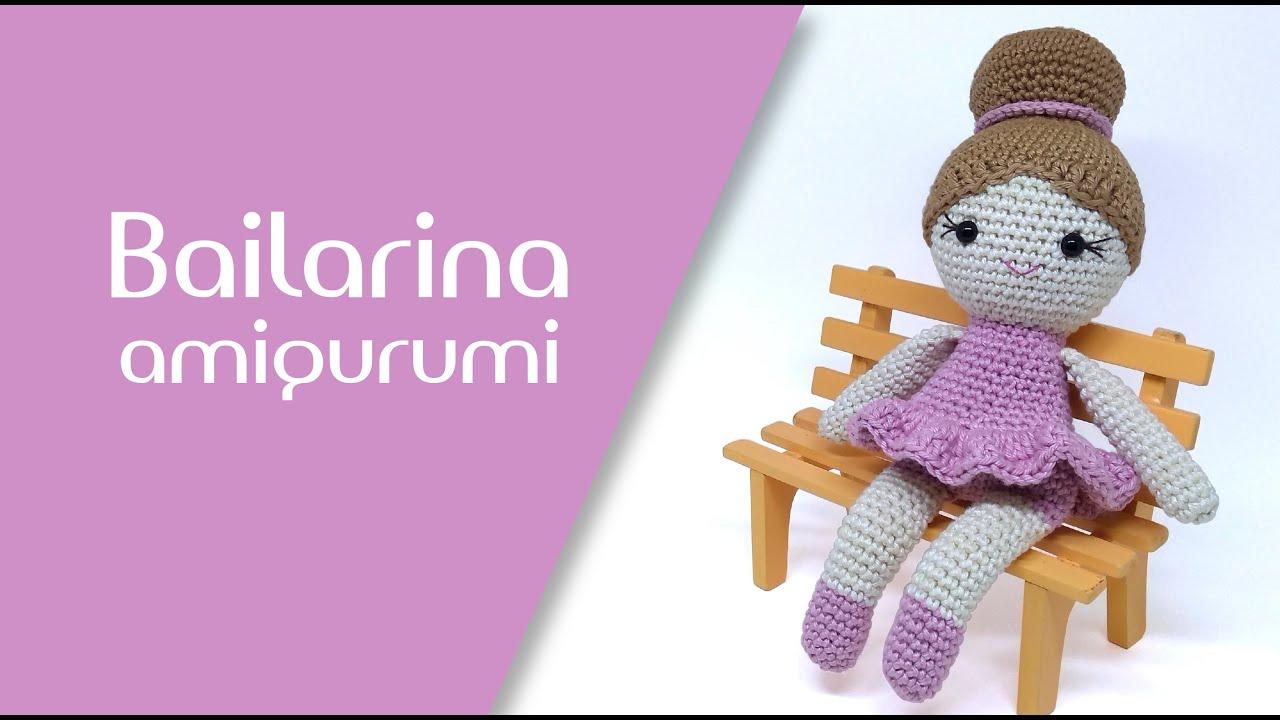 Amigurumi: Boneca Bailarina - de.udi.br - Tia Lúcia Entrelinhas | 720x1280