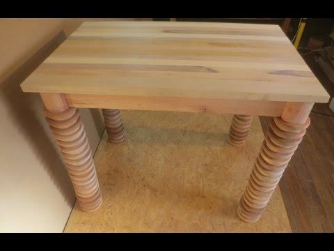 Como hacer una mecedora de madera carpinteria mueble for Hagalo usted mismo mesa