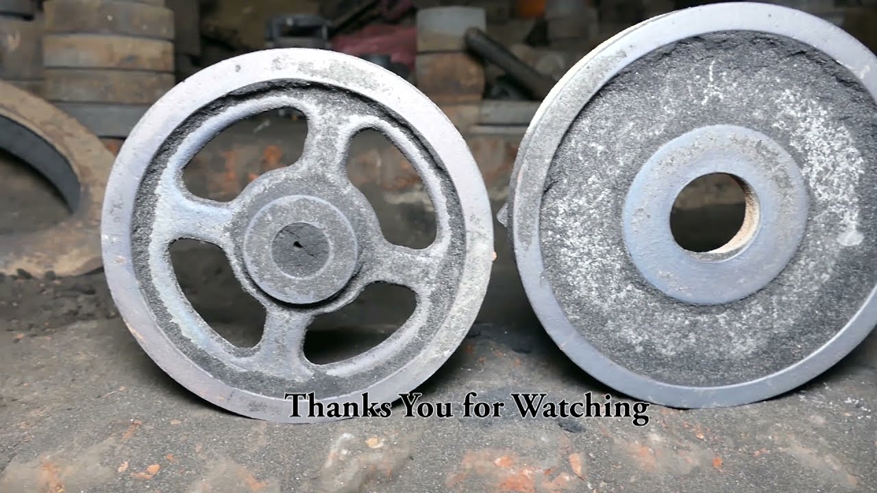 Metal Casting Process Using Sand Mold with Amazing Skills