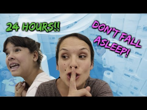 ALL NIGHTER CHALLENGE! 24 hours NO SLEEP...who will win?!