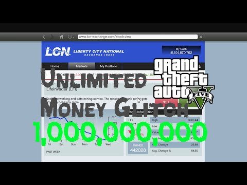 GTA V Unlimited Money Glitch (Stock Market)
