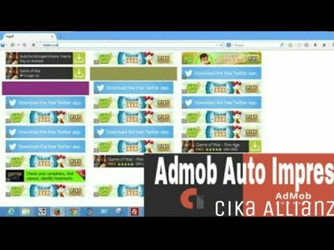 Admob Auto Impression (Interstitial) New 2017