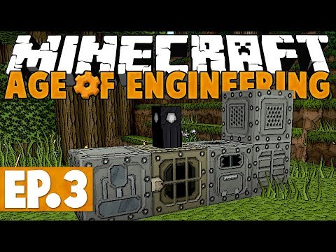 Minecraft Age of Engineering! #3 - Industrial Age! [Twitch VoD]