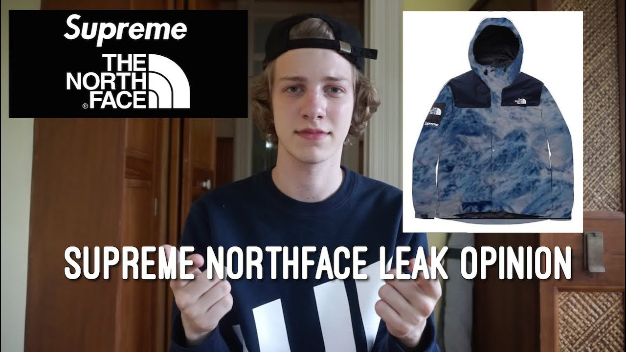 5fcb6c3d2858 Supreme x North Face F/W 2017 Leaked!? Supreme Northface Leak Opinion!