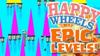 TOP 10 LEVELS IN HAPPY WHEELS!