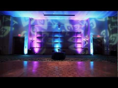 Houston Wedding: DJU Productions Woodlands Resort CC