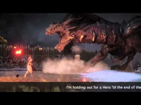 "Dragon Age: Inquisition Karaoke ""Holding Out For A Hero"""