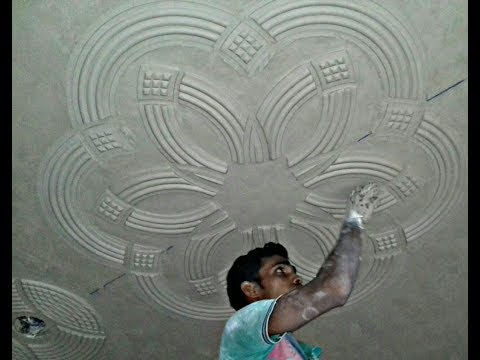 Santosh Rajbhar POP Master- Livingroom Fan Box Roof Latest POP Design 23
