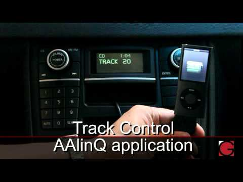 GROM Volvo XC90 2007 2008 2009 2010 Bluetooth Hands Free iPod iPhone Android USB Car Kit Demo