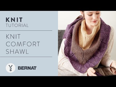 How to Knit a Prayer Shawl: Knit Comfort Shawl