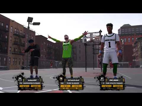 Turtle DG - Getting Frosty NBA 2K18 Slasher Mixtape Crazy Dunks