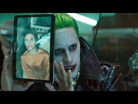 Harley and Floyd trying to escape | Suicide Squad