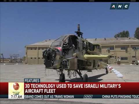 3D-printed parts used for Israeli military aircrafts