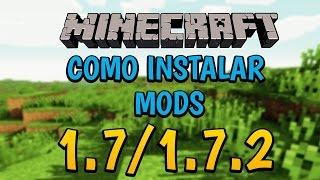 Como instalar Minecraft 1.7.2 en pc Gratis 2015+MODS+FORGE