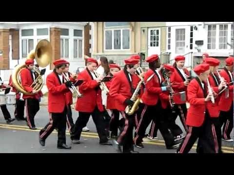 Trexler Middle School Band - Allentown Parade - November 4, 2012