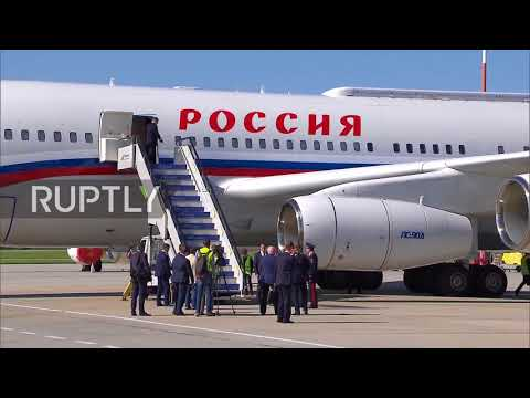 Russia: Putin lands in Vladivostok ahead of Eastern Economic Forum