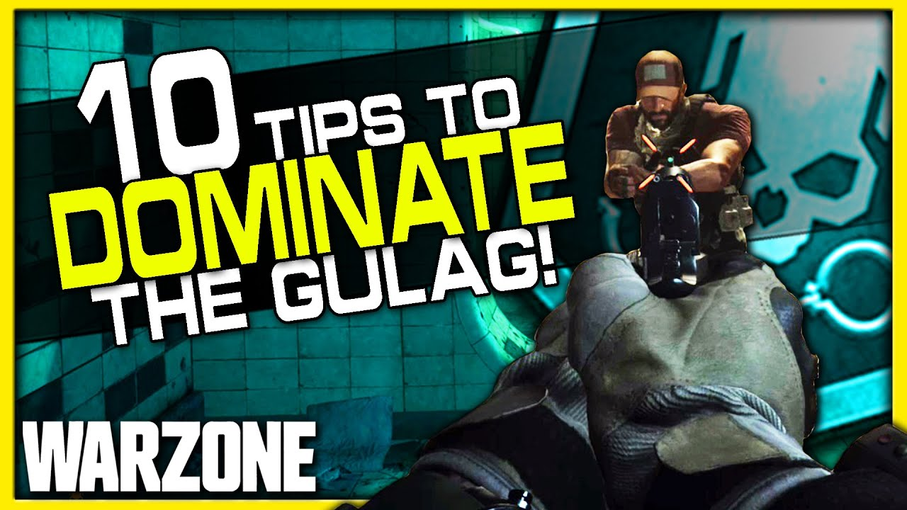 Top 10 Gulag Tips in Warzone! | (How to Win More 1v1s!)