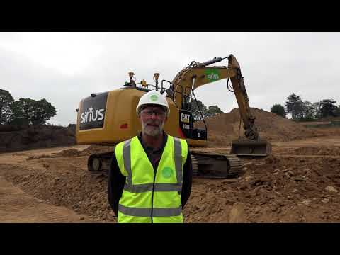Finning News Visits Sirius To Discuss Trimble Earthworks For Excavators