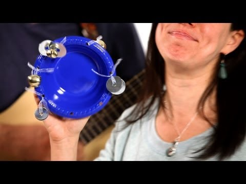 How to Make a Tambourine | Musical Instruments