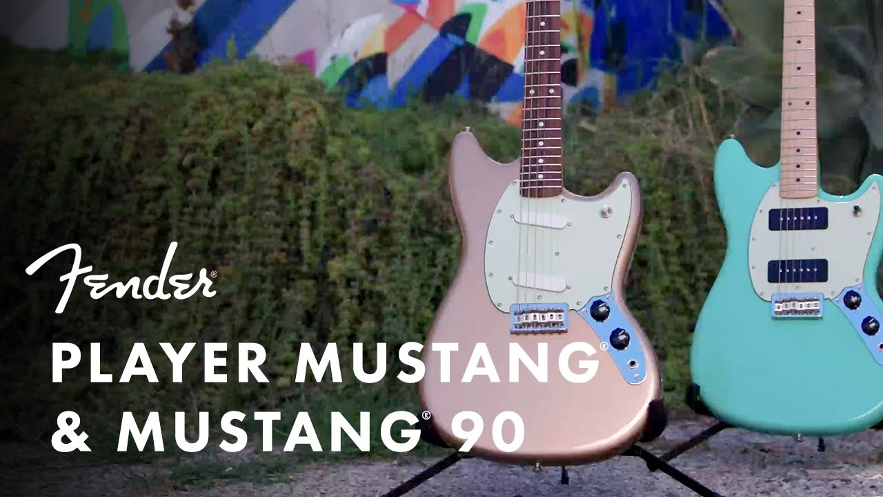 Player Mustang and Mustang 90 with Nicholas Veinoglou | Player Series | Fender