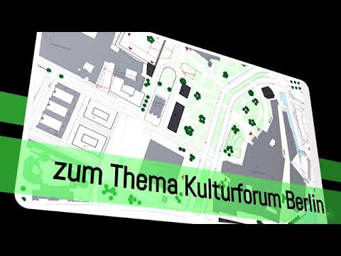 Kulturforum Berlin - Auf dem Weg zur Vollendung? Eine Diskussion vom 24.11.2015