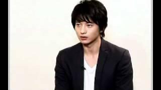 向井理さんの新CMのインタビューです。