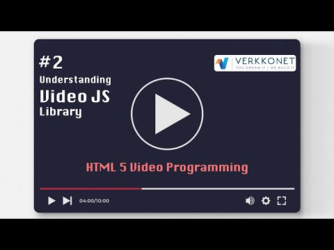 HTML Video Programming #2 - Understanding Video-JS Library (2/4)